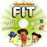 Nickelodeon Fit Wii disc (SNKX54)