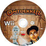The Explorer and the Mystery of the Diamond Scarab Wii disc (SODPYK)