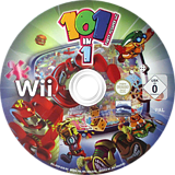 101-in-1 Sports Party Megamix Wii disc (SOIPHZ)