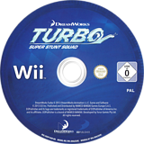 Turbo: Super Stunt Squad Wii disc (SOSPAF)