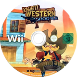 Spaghetti Western Shooter Wii disc (SPHPJW)