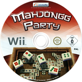 Mahjongg Party Wii disc (SPMDRM)