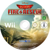 Disney Planes: Fire & Rescue Wii disc (SQQPVZ)