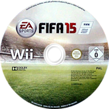 FIFA 15 - Legacy Edition Wii disc (SQVP69)