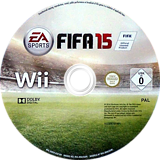 FIFA 15 - Legacy Edition Wii disc (SQVX69)