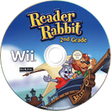 Reader Rabbit 2nd Grade Wii disc (SRWXNL)