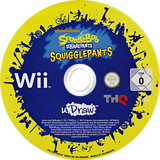 SpongeBob SquigglePants Wii disc (SS8P78)