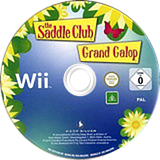 The Saddle Club Wii disc (SSLPKM)