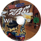 Wild West Shootout Wii disc (SSRPXT)