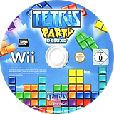 Tetris Party Deluxe Wii disc (STEPTR)