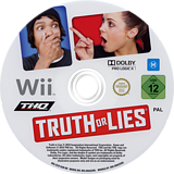 Truth or Lies Wii disc (STLP78)