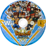 Inazuma Eleven Strikers Wii disc (STQP01)