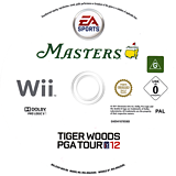 Tiger Woods PGA Tour 12: The Masters Wii disc (STXP69)