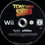 Tony Hawk:Shred Wii disc (STYP52)