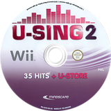 U-Sing 2: Popstars Edition Wii disc (SU3HMR)