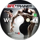 UFC Personal Trainer: The Ultimate Fitness System Wii disc (SU4P78)