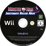 Monster High: Skultimate Roller Maze Wii disc (SU5PVZ)
