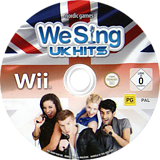 We Sing: UK Hits Wii disc (SUQPNG)