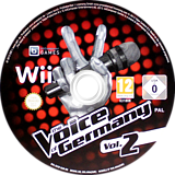 The Voice of Germany Vol. 2 Wii disc (SV5PRV)