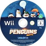 Penguins of Madagascar Wii disc (SV7PVZ)
