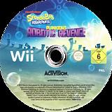 SpongeBob SquarePants: Plankton's Robotic Revenge Wii disc (SVDP52)