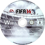 FIFA 14 - Legacy Edition Wii disc (SVHX69)