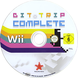 BIT.TRIP COMPLETE Wii disc (SVTP99)