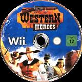 Western Heroes Wii disc (SW7PNK)
