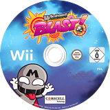 Wicked Monsters Blast! Wii disc (SW9PYT)