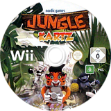Jungle Kartz Wii disc (SX2PNG)