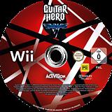 Guitar Hero: Van Halen Wii disc (SXDP52)