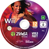 Zumba Fitness World Party Wii disc (SZ3PGT)