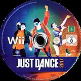 Just Dance 2017 Wii disc (SZ7P41)