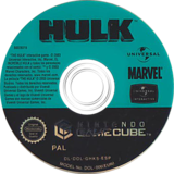 Hulk GameCube disc (GHKS7D)