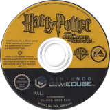 Harry Potter y la Cámara Secreta GameCube disc (GHSX69)