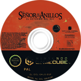 El Señor de los Anillos: El Retorno del Rey GameCube disc (GKLS69)