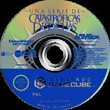 Una serie de Catastróficas Desdichas de Lemony Snicket GameCube disc (GLCS52)