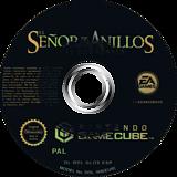 El Señor de los Anillos: Las Dos Torres GameCube disc (GLOS69)