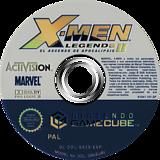 X-Men Legends II: El Ascenso de Apocalipsis GameCube disc (GX2S52)