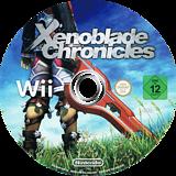 Xenoblade Chronicles Wii disc (SX4P01)
