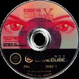 Resident Evil Code: Veronica X disque GameCube (GCDP08)