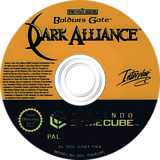 Baldur's Gate: Dark Alliance disque GameCube (GDEF71)
