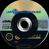 Les 4 Fantastiques disque GameCube (GF4F52)