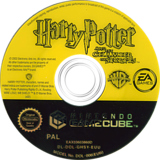 Harry Potter and the Chamber of Secrets disque GameCube (GHSX69)