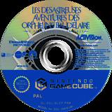 Les Desastreuses Aventures des Orphelins Baudelaire disque GameCube (GLCF52)