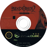 Blood Omen 2: The Legacy of Kain Series disque GameCube (GO2F4F)