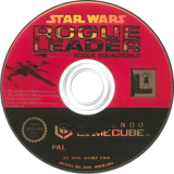 Star Wars Rogue Squadron II: Rogue Leader disque GameCube (GSWF64)