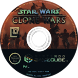 Star Wars: The Clone Wars disque GameCube (GSXF64)
