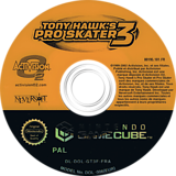 Tony Hawk's Pro Skater 3 disque GameCube (GT3F52)