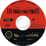 2 Games in 1: Les Indestructibles / Le Monde de Nemo disque GameCube (GU2F78)